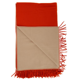 Get the look with the Barneys New York Double Faced Throw ($695).