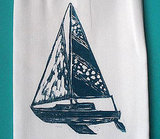Sailboat in Blue