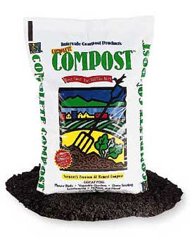 Now's the time to amend your garden beds with manure or compost. I like the Intervale Organic Compost ($14.95).