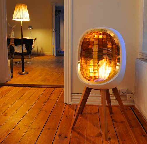 10 Chimney-Free Portable Fireplaces