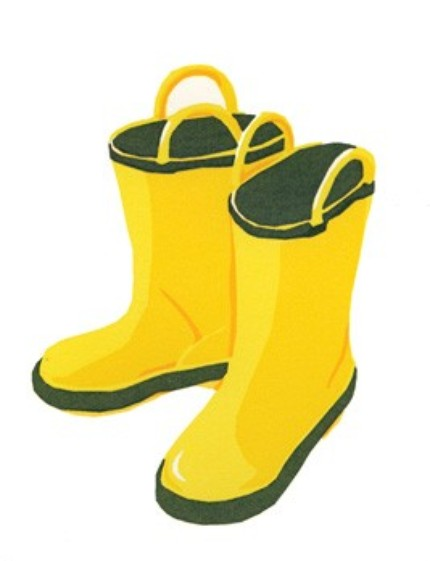 Send some Wellies love through the mail with this Rain Boots Card ($4.50).