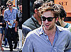 Robert Pattinson and Emilie De Ravin Filming Remember Me In New York