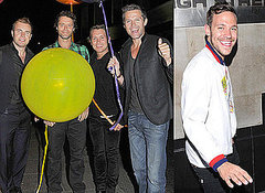 Howard Donald - At The Afterparty For Their Circus Live Tour, London