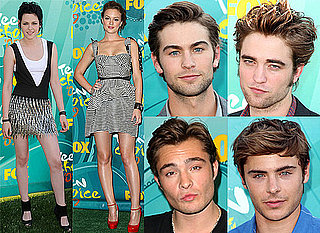 Photos Of Red Carpet Arrivals For Teen Choice Awards 2009 Including Robert Pattinson, Kristen Stewart, Ed Westwick, Leighton