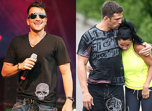 Photos of Jordan aka Katie Price Kissing Alex Reid and Peter Andre on Stage at Preston 'N' Proud's Rock in the Park
