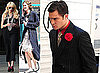 Photos From The Set Of Gossip Girl With Ed Westwick, Leighton Meester, Taylor Momsen