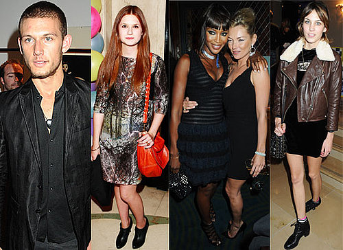 Photos Of Celebs Partying At London Fashion Week Including Topshop Dinner and Mulberry Party