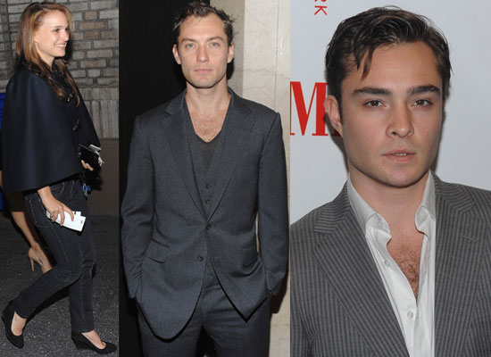 Jude Law, Ed Westwick and Hamlet Opening Night Previous Next