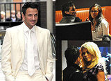 Photos of Peter Andre With Melanie Brown and Chantelle Houghton and Nicola McLean, Katie Price's Friends Argue With Peter Andre