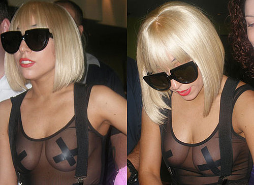 Lady Gaga's Nipple Covers