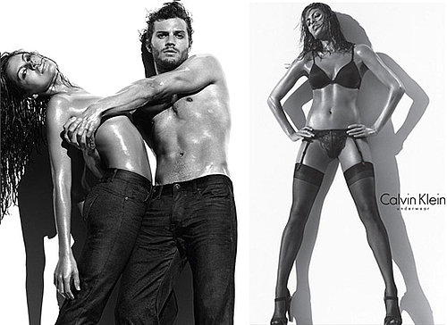 Photos of Eva Mendes Topless for Calvin Klein Lingerie, Shirtless Jamie Dornan,
