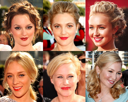 Who Looked The Lovliest In Red Lipstick at the Emmy's?