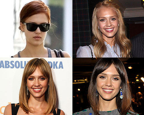 Jessica Alba Hair Colour, Jessica Alba Red Hair