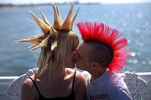 Punk Rockers Gather in Blackpool, England, For the Annual Rebellion Festival