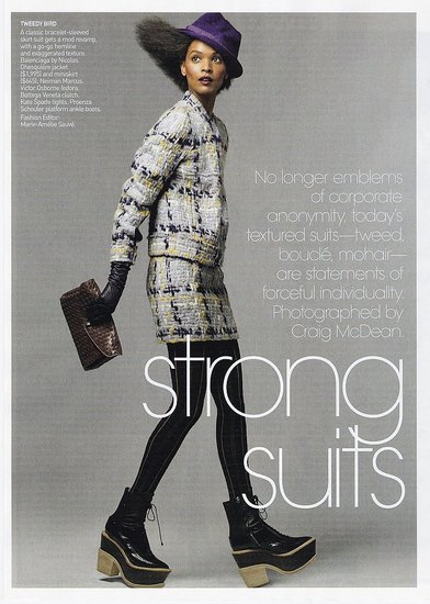 Liya Kebede does Vogue-sept 09