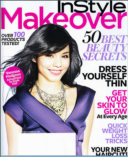 Vanessa Hudgens does Instyle Makeover-Fall 09