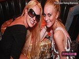 Britney Spears and Lindsay Lohan Photo, Jennifer Aniston Elle Magazine Cover, and MTV VMA Nominations