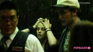 Robert Pattinson and Kristen Stewart at Vancouver Hotel