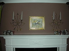 Mercury Glass Mantel