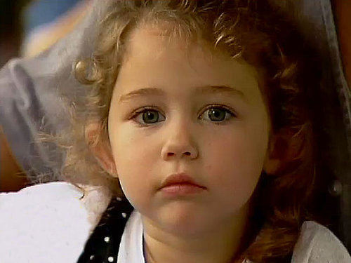 Miley Cyrus Childhood Pics!