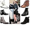 Shopping: Flat Ankle Boots with Buckles