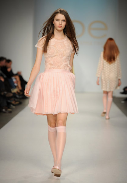 A look from Joe Fresh's Spring 2010 collection on 10/21/09