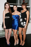 Mischa Barton, Georgina Chapman and Helena Christensen