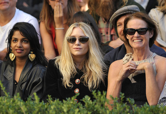 M.I.A, Mary-Kate Olsen and Lisa Love