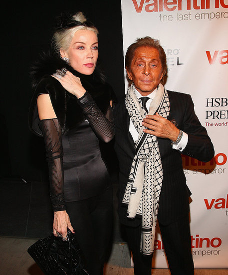 Daphne Guinness, Marc Jacobs, and Madonna Celebrate with Valentino