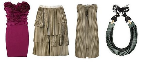 Shopping: Pretty Pleats