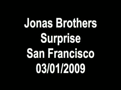 Jonas in SF