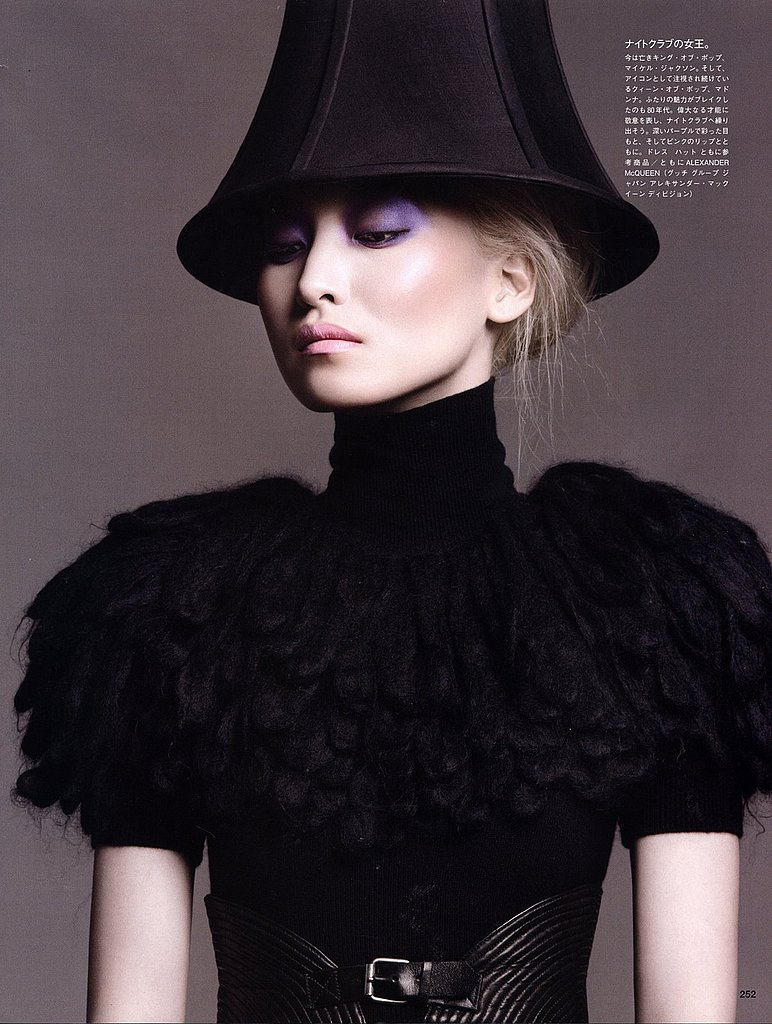 Vogue Nippon September 2009 by Francois Nars