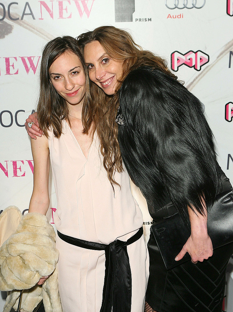 Gia Coppola and Jacqui Getty