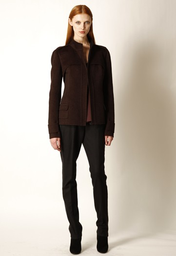 Narciso Rodriguez Plays with Proportion for Pre-Fall 2010