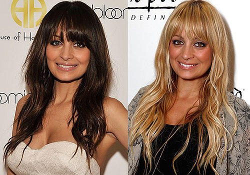 Nicole Richie's Hair Colour Poll