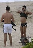Marc Jacobs, Lorenzo Martone Enjoy a St. Barts Beach on Christmas Eve