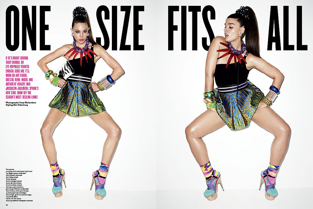 "First Look: Terry Richardson Photographs Crystal Renn for V Magazine (#63) ""The Size Issue"""