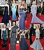 Blue frocks at the Golden Globes