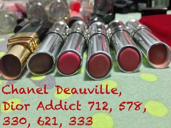 SALE - Chanel Rouge Coco Shine & Dior Addict Lipstick