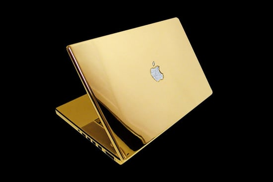 Gold Apple Mac Air
