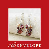 Garnet Love Earrings