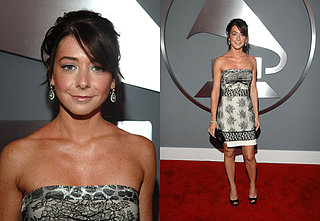 The Grammys Red Carpet: Alyson Hannigan