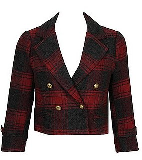 Fabworthy: Forever 21 Plaid Swing Jacket