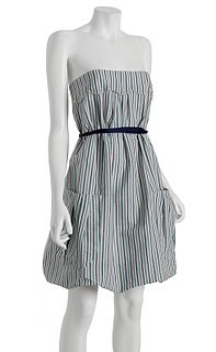 Vera Wang Striped Bubble Dress: Love It or Hate It?