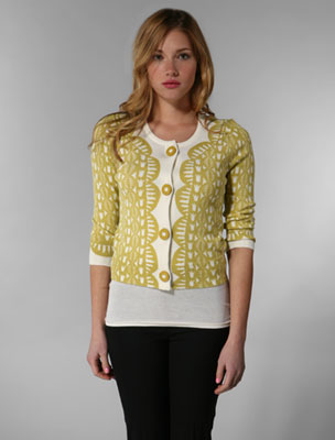 Trend Alert: Cutton as a Button Cardigans