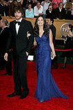 Demi Moore in Cool Indigo