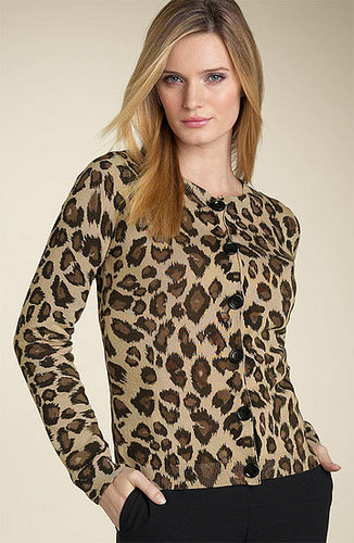 The Look For Less: Michael Kors Leopard-Print Cardigan