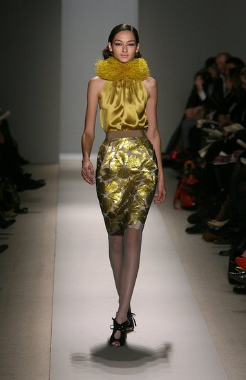 Luscious Yellow at Reem Acra
