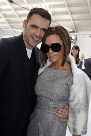 Fab Flash: Victoria Beckham to Collaborate with Roland Mouret