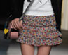 Trend Alert: Tiered Floral Miniskirts